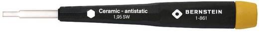 Abgleichschraubendreher mit Keramik-Klinge, 6-kt., 1,95 mm SW Bernstein 1-861