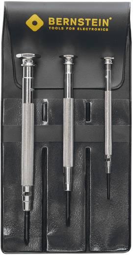 Uhrmacher-Schraubendreher-Satz 3teilig Größe (Schraubendreher): 0 Klingenbreite: 1.5 mm, 2.5 mm Bernstein 4-360