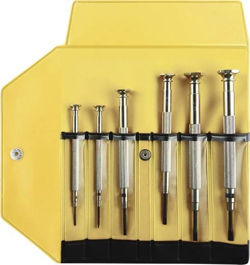 Uhrmacher-Schraubendreher-Satz 6teilig Klingenbreite: 1 mm, 1.5 mm, 2 mm, 2.5 mm, 3 mm, 3.5 mm Bernstein 4-379