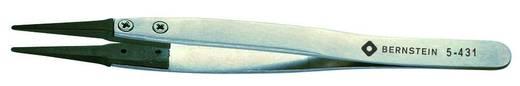 Präzisionspinzette Flach-rund 125 mm Bernstein 5-431