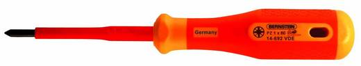VDE Kreuzschlitz-Schraubendreher Bernstein PZ 1 Klingenlänge: 80 mm DIN EN 60900