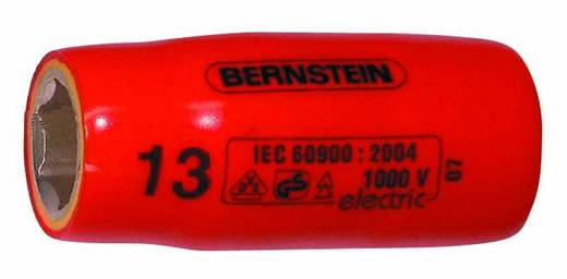 """Außen-Sechskant VDE-Steckschlüsseleinsatz 10 mm 1/2"""" (12.5 mm) Bernstein 16-441 VDE"""