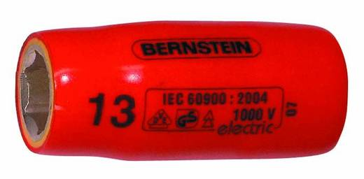 """Außen-Sechskant VDE-Steckschlüsseleinsatz 13 mm 3/8"""" (10 mm) Produktabmessung, Länge 45 mm Bernstein 16-488 VDE"""