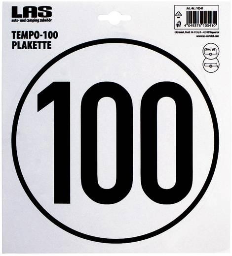 Tempo-Plakette 100 km/h LAS