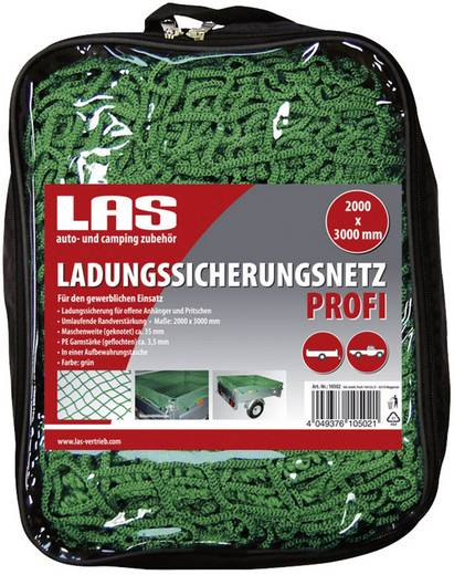 Anhängernetz (L x B) 3 m x 2 m LAS 10502 Filet de protection de chargement Profi 2000 x 3000 mm