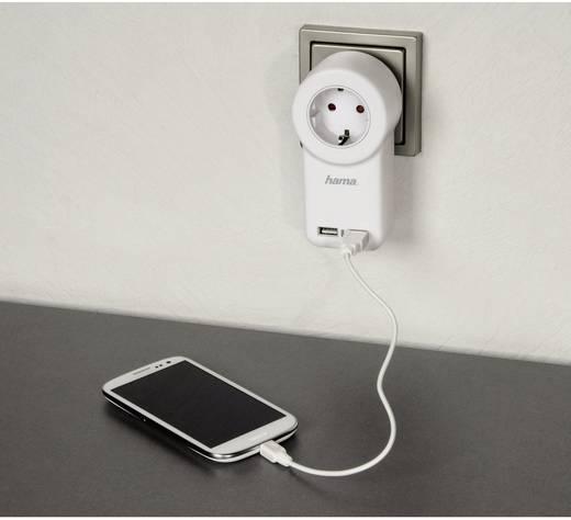 USB-Steckdosenadapter mit Schalter
