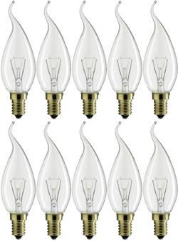 Ampoule à incandescence Philips Lighting E14 40 W=40 W blanc chaud forme de flamme 10 pc(s)
