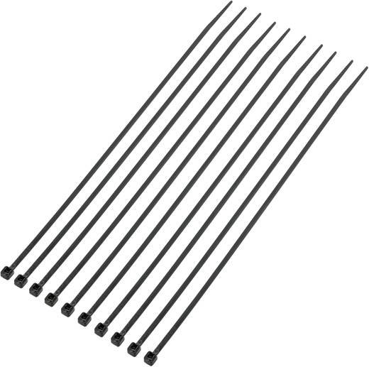 Kabelbinder 200 mm Schwarz UV-stabilisiert KSS CV200MKBK 1000 St.