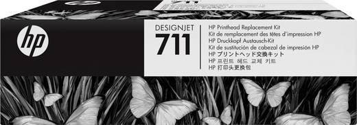 HP Druckkopf 711 Original Schwarz, Cyan, Magenta, Gelb C1Q10A