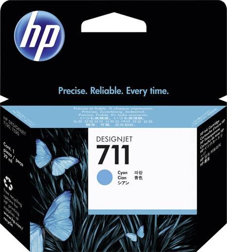 HP Tinte 711 Original Cyan CZ130A