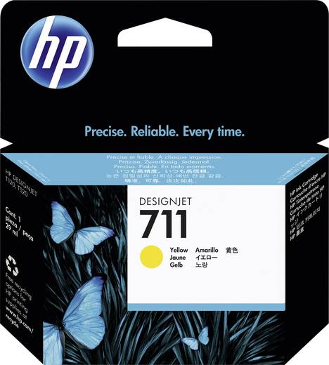 HP Tinte 711 Original Gelb CZ132A