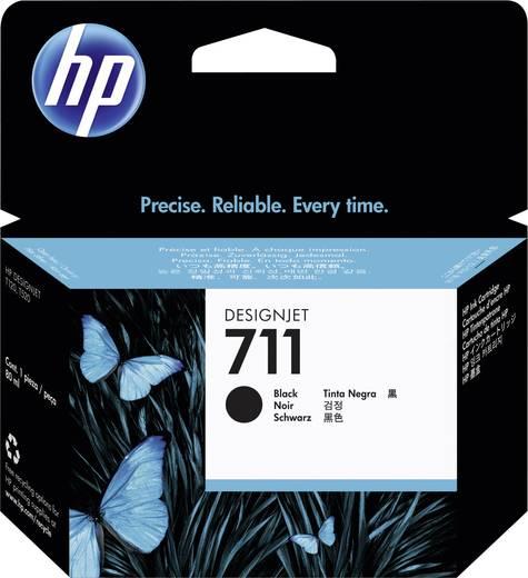 HP Tinte 711 Original Schwarz CZ133A