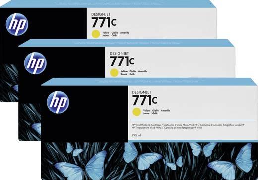 HP Tintenpatronen 3er-Pack 771C Gelb B6Y34A