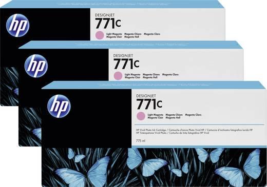 HP Tintenpatronen 3er-Pack 771C Hell Magenta B6Y35A