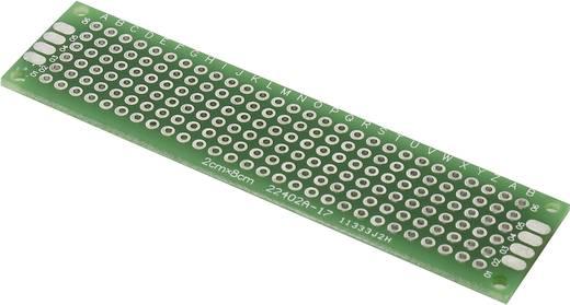 Experimentierplatine Epoxyd (L x B) 80 mm x 20 mm 35 µm Rastermaß 2.54 mm PCB2-2080 Inhalt 1 St.