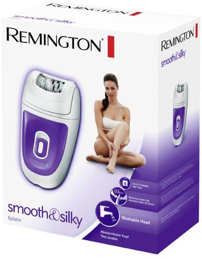 Epilierer Remington EP7010 smooth & silky Weiß, Lila