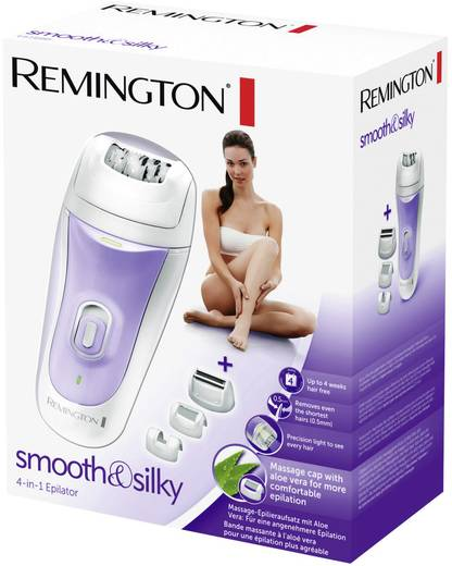 Epilierer Remington EP7020 smooth & silky Grau, Lila