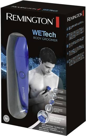 Körperhaartrimmer Remington BHT6250 WETTech abwaschbar Schwarz-Blau