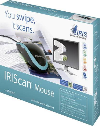 IRIS by Canon IRIScan™ Mouse Maus-Scanner A3 300 x 300 dpi USB