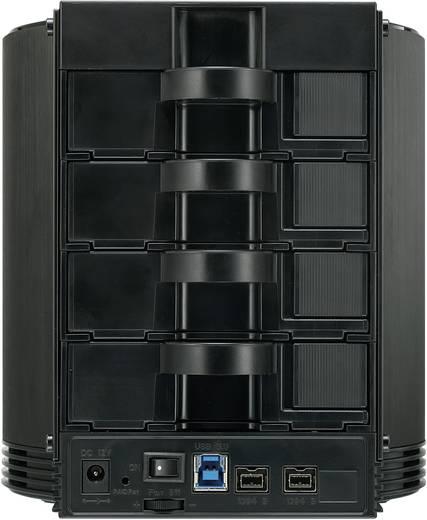 SATA-Storage-Box 4-Bay USB3.0/FireWire 800