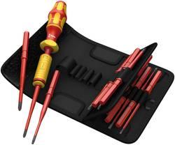 Sada plochých/křížových šroubováků Kompakt VDE, 1,2-3,0 Nm, 15-dílná