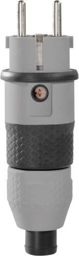 Schutzkontaktstecker Kunststoff 230 V Grau, Schwarz IP54 ABL Sursum 1529160