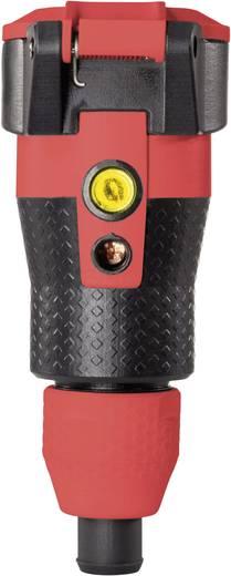 ABL Sursum 1589240 Schutzkontaktkupplung Kunststoff mit Spannungsanzeige 230 V Schwarz, Rot IP54