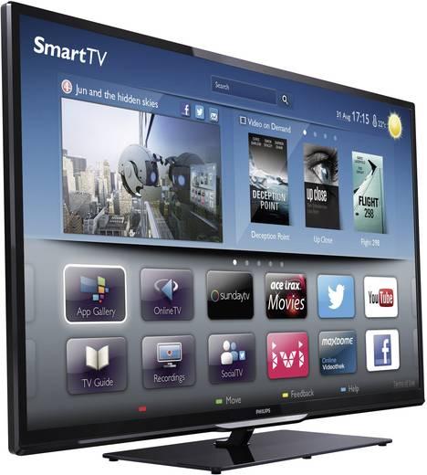 philips pfl4208k 12 led tv 117 cm 46 zoll dvb t dvb c dvb s full hd smart tv wlan pvr. Black Bedroom Furniture Sets. Home Design Ideas