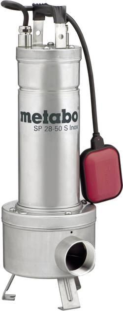 Ponorné čerpadlo pro užitkovou vodu Metabo SP 28-50 S Inox 6.04114.00, 28000 l/h, 12 m