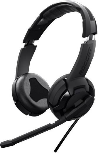 Gaming Headset USB, 3.5 mm Klinke schnurgebunden Roccat Kulo-Virtual 7.1 Over Ear Schwarz