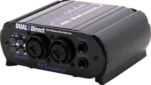 Aktive DI Box 2-Kanal ART Audio DUALXDIRECT