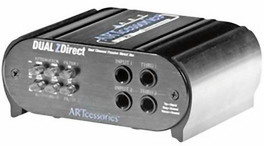 Passive DI Box 2-Kanal ART Audio DUALZDIRECT Passive
