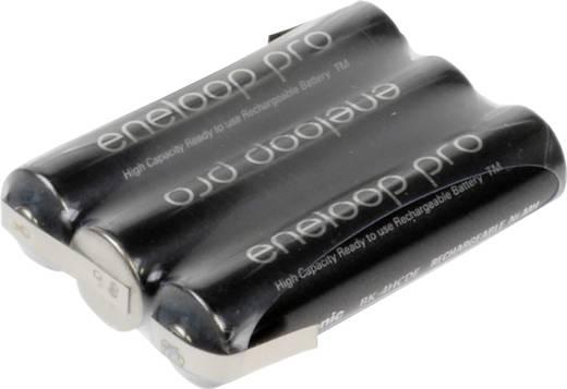 Akkupack 3x Micro (AAA) Z-Lötfahne NiMH Panasonic eneloop Pro 3.6 V 900 mAh