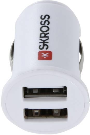 Skross Zigarettenanzünder-Adapter Midget Dual USB Car Charger 1 A Belastbarkeit Strom max.=1 A Passend für (Details) Zi