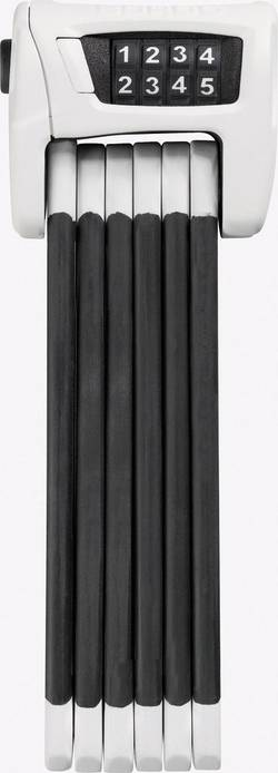 Zámek na kolo ABUS 6100/90, bílý