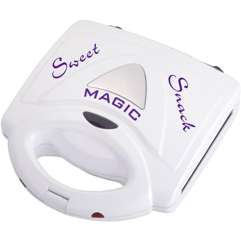 waffeleisen mit wechselbaren platten rtc mss1 magic sweet snack wei im conrad online shop 409010. Black Bedroom Furniture Sets. Home Design Ideas