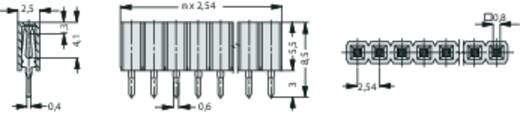Buchsenleiste (Standard) Anzahl Reihen: 1 Polzahl je Reihe: 36 Fischer Elektronik BL LP 1/ 36/S 1 St.