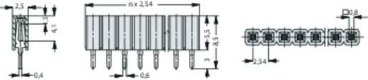 Buchsenleiste (Standard) Anzahl Reihen: 1 Polzahl je Reihe: 36 Fischer Elektronik BL LP 1/ 36/Z 1 St.