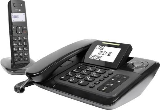 Schnurgebundenes Seniorentelefon doro Comfort 4005 Combo Optische Anrufsignalisierung, Anrufbeantworter, Freisprechen Be