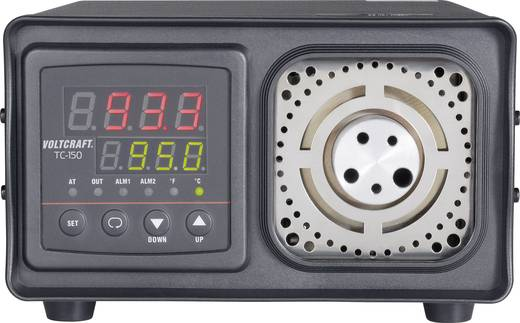VOLTCRAFT TC-150 Temperatur-Kalibrator, zum Kalibrieren von Kontakt-Thermometern, Kalibrierbereich +33 bis +300 °C, Grun