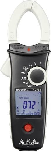 Stromzange, Hand-Multimeter digital VOLTCRAFT VC-733 Kalibriert nach: Werksstandard (ohne Zertifikat) CAT III 1000 V, C