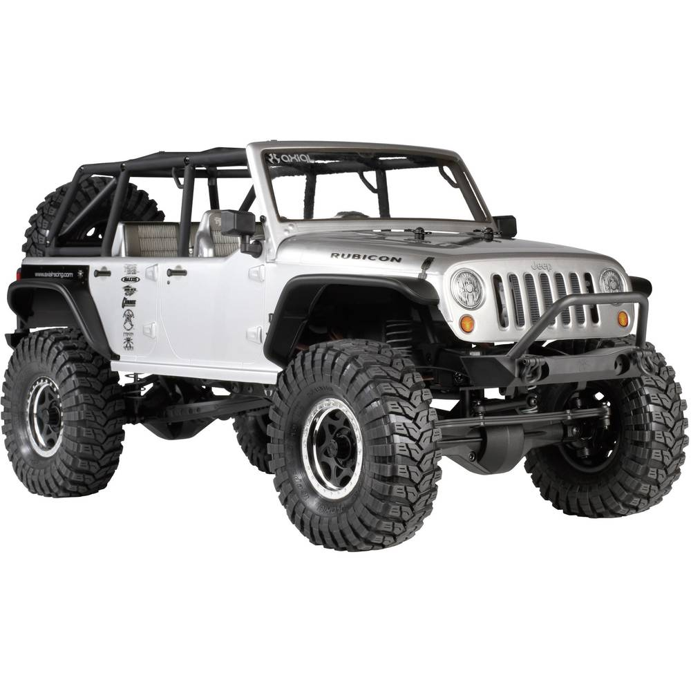 crawler axial scx10 jeep wrangler lectrique brushed 2 4 ghz 4 roues motrices pr t rouler rtr. Black Bedroom Furniture Sets. Home Design Ideas