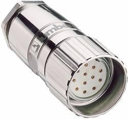 Connecteur circulaire M23 Lumberg Automation 2054 Femelle droite Pôle: 12 nickel 1 pc(s)