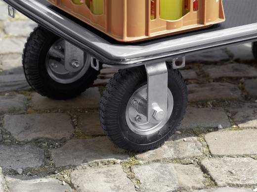 Plattformwagen klappbar, mit Ablagefach Stahl Traglast (max.): 300 kg Meister Werkzeuge 8985680