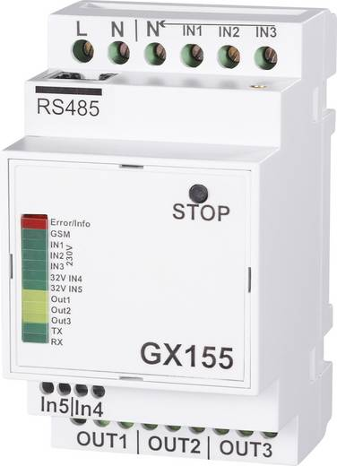 GSM Modul 110 V/AC, 230 V/AC GX155 Funktion: Alarmieren, Schalten
