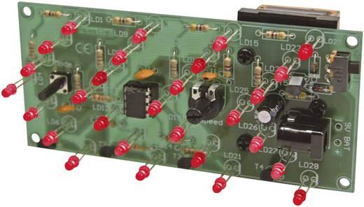 LED Bausatz Velleman MK176 Ausführung (Bausatz/Baustein): Bausatz 9 V/DC, 12 V/DC