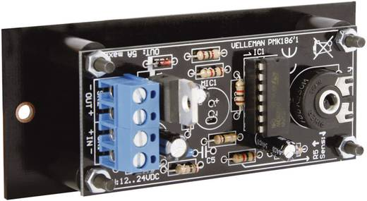 LED Lichtorgel Velleman MK186 Ausführung (Bausatz/Baustein): Bausatz 12 V/DC, 24 V/DC