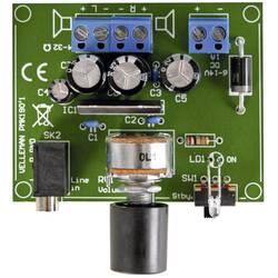 Zosilňovač pre MP3 prehrávač stavebnica Whadda MK190, 6 V/DC, 9 V/DC, 12 V/DC