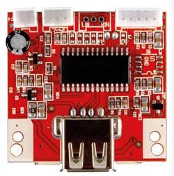 Lecteur MP3 kit monté Velleman VM202N 9 V/DC, 12 V/DC 1 pc(s)