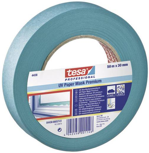 Kreppband TESA Blau (L x B) 50 m x 50 mm Acryl Inhalt: 1 Rolle(n)